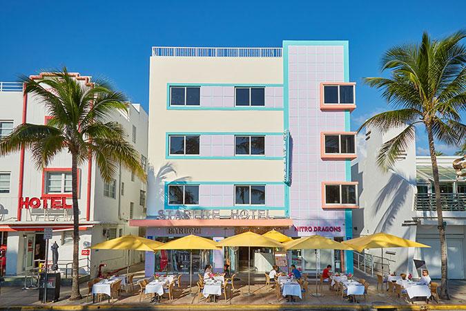 Miami Beach Florida Hotel Starlite